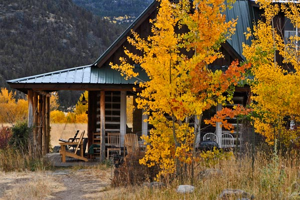 montana fly fishing cabins yellowstone gateway