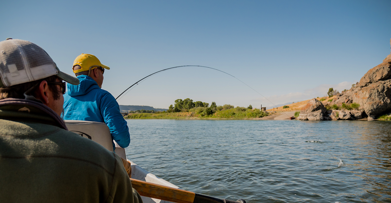 Yellowstone River fly fishing trip