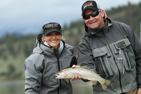 Missouri River guided fly fishing trips